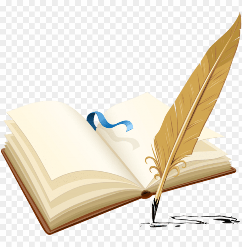 Livre D Or Pen And A Book Png Image With Transparent