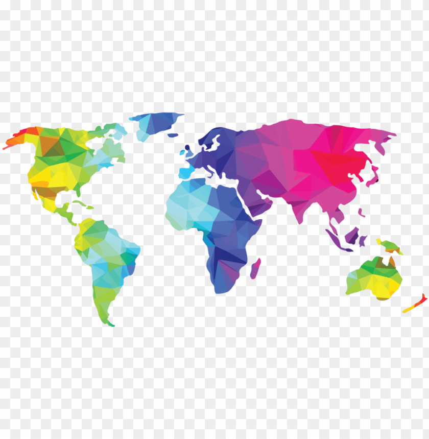 lobal affiliate world - black world map silhouette PNG image ...