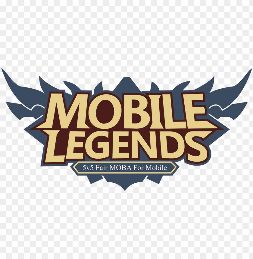 logo mobile legends vector cdr & png hd - mobile legends