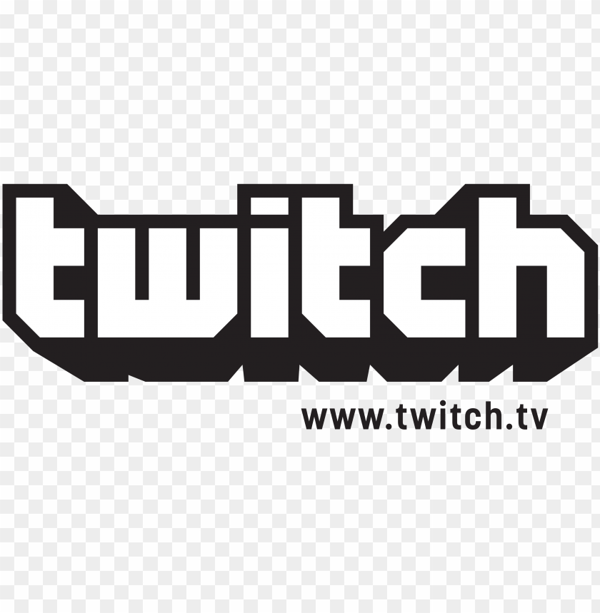 logo twitch blanc PNG image with transparent background | TOPpng