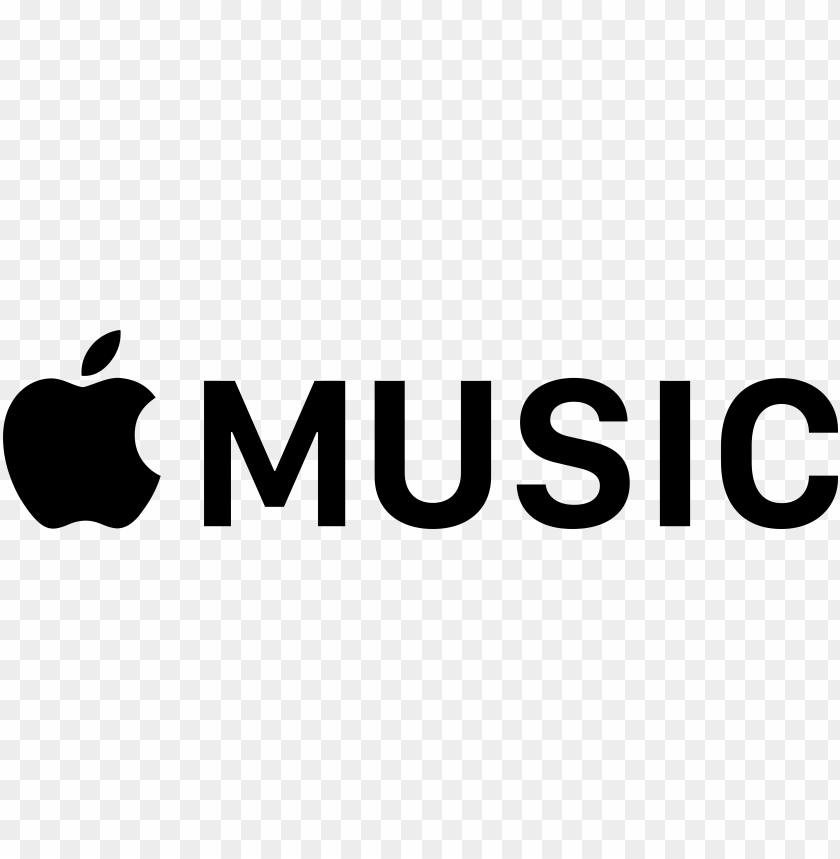 Logos Download Black Apple Music Logo Transparent Png Image With Transparent Background Toppng