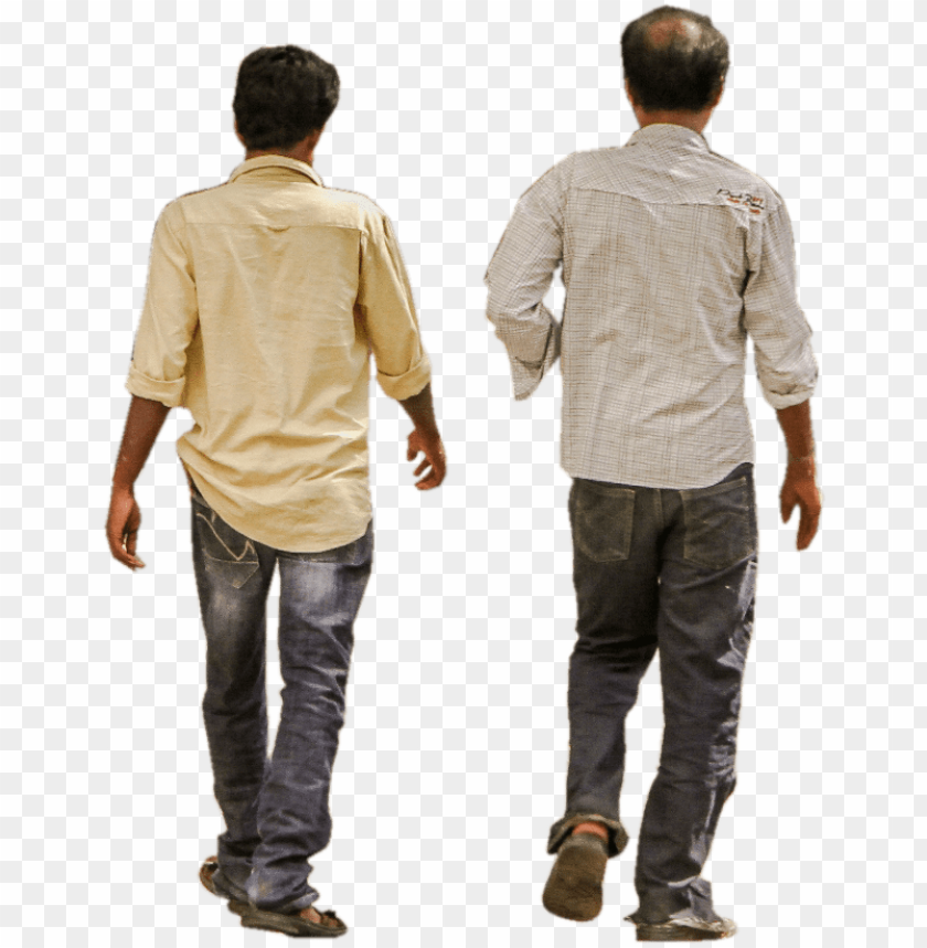 free PNG man men group walking back friends formal urban india - indian walking perso PNG image with transparent background PNG images transparent