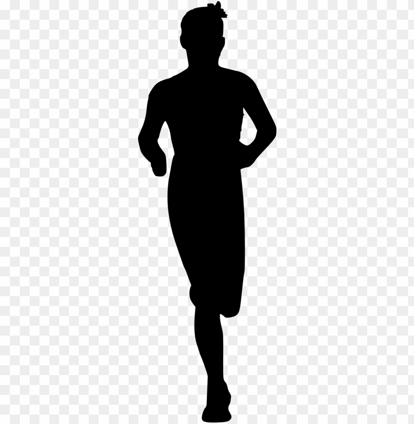 free PNG man running silhouette png - Free PNG Images PNG images transparent