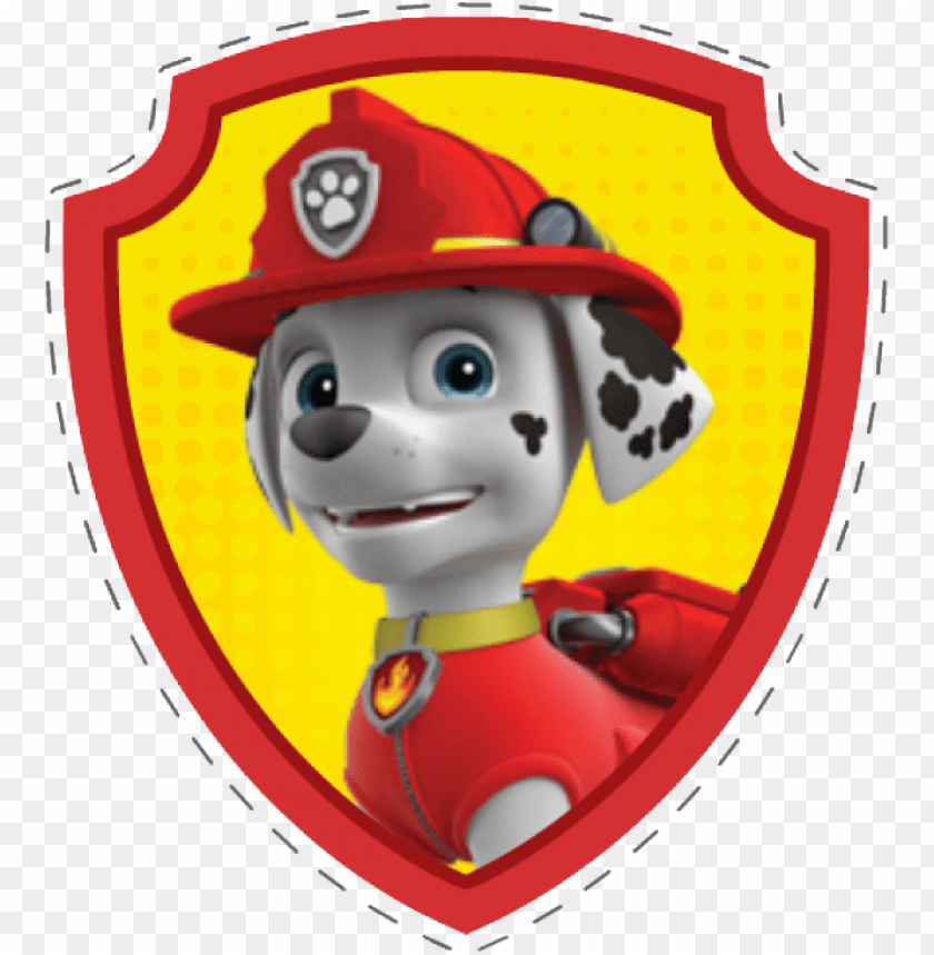 free png marshall from paw patrol png image with
