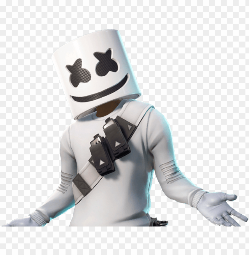 Marshmello 1 Marshmello Skin Fortnite Png Image With Transparent Background Toppng