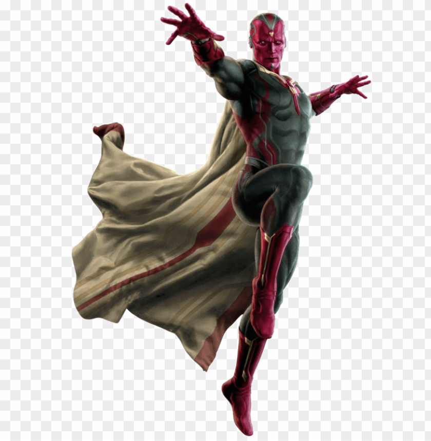 free PNG marvel vision free png image - vision avengers age of ultron PNG image with transparent background PNG images transparent
