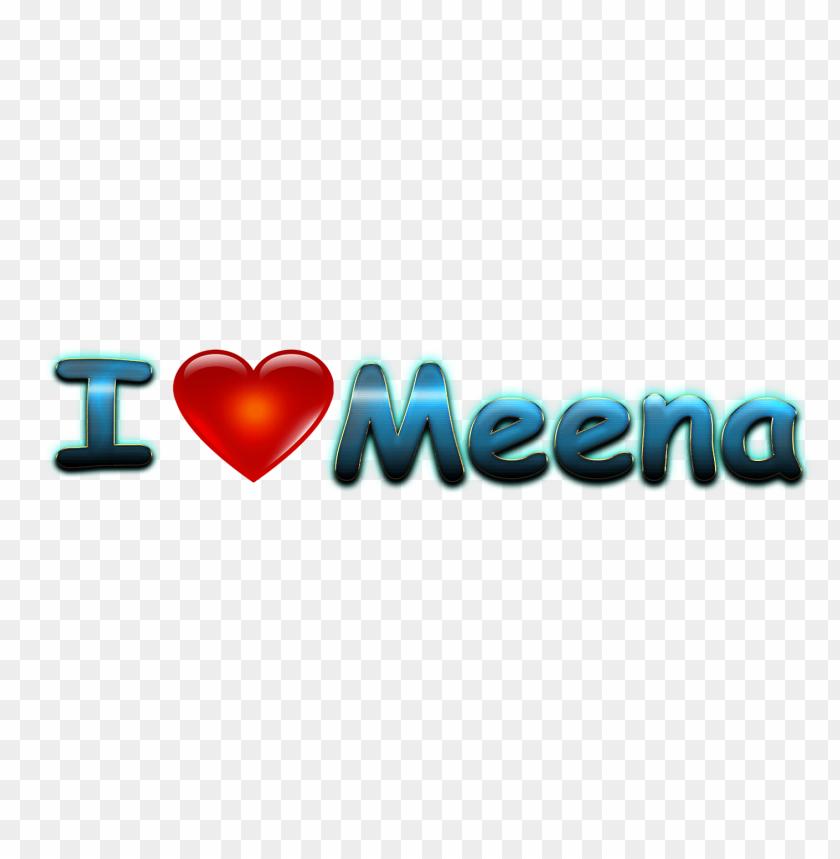 free PNG meena heart name PNG images transparent