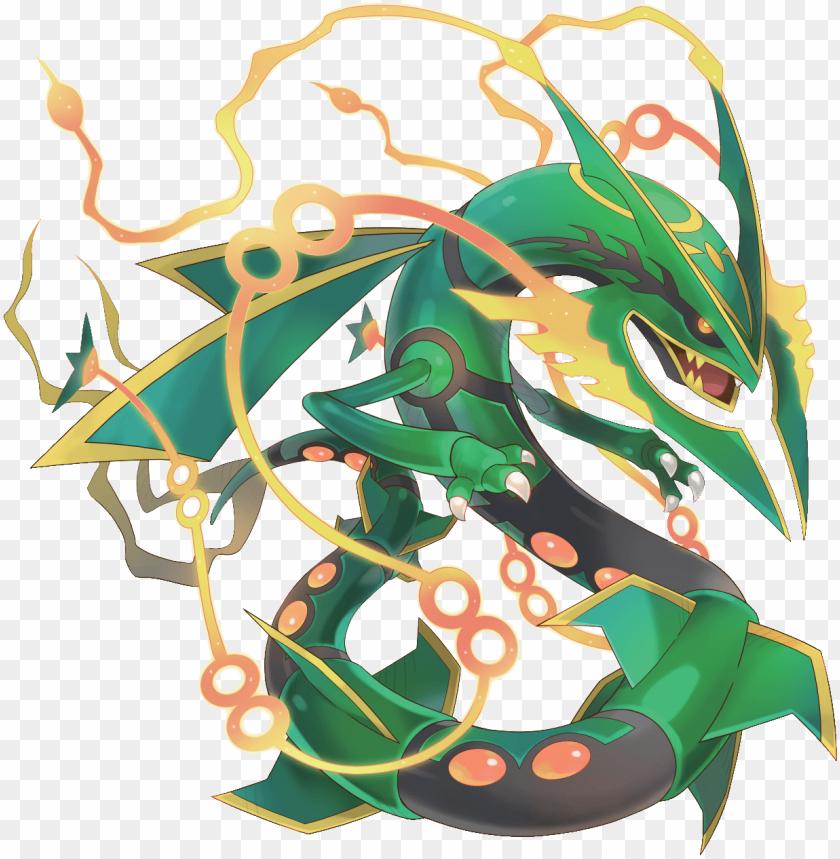 Mega Rayquaza Mega Rayquaza Pokemon Rayquaza Ghost