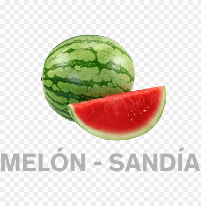 Download Melonsandia Individual Fruits And Vegetables Png