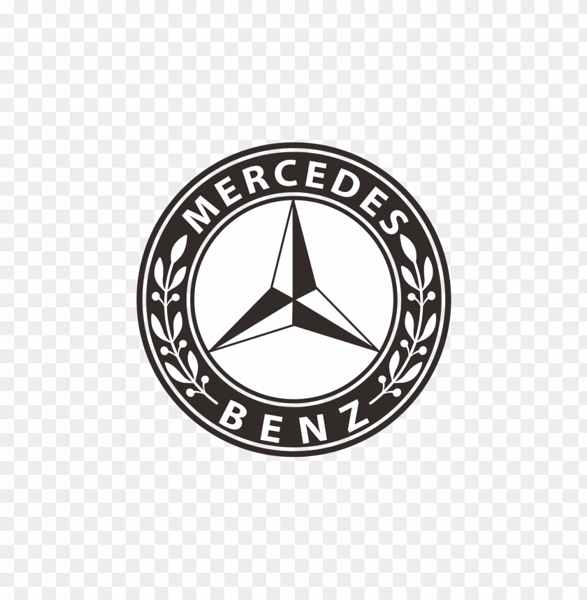mercedesbenz logo black and white png free png images