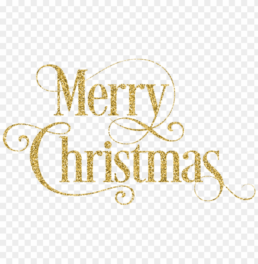 Merry Christmas Gold Png Free Png Images Toppng