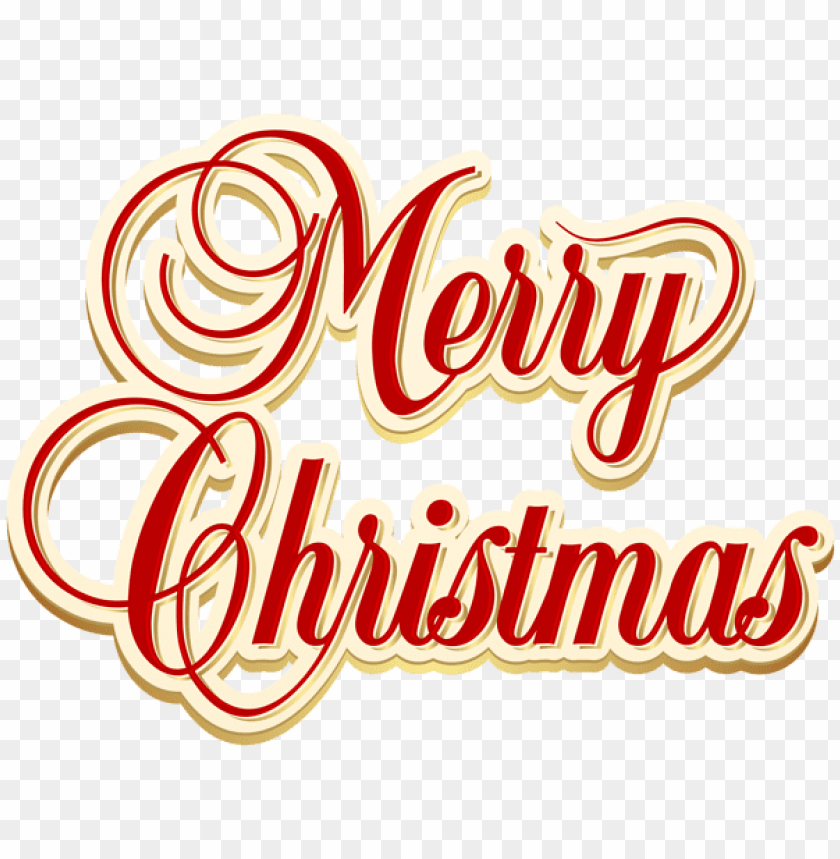 Merry Christmas Png Text Png Free Png Images Toppng