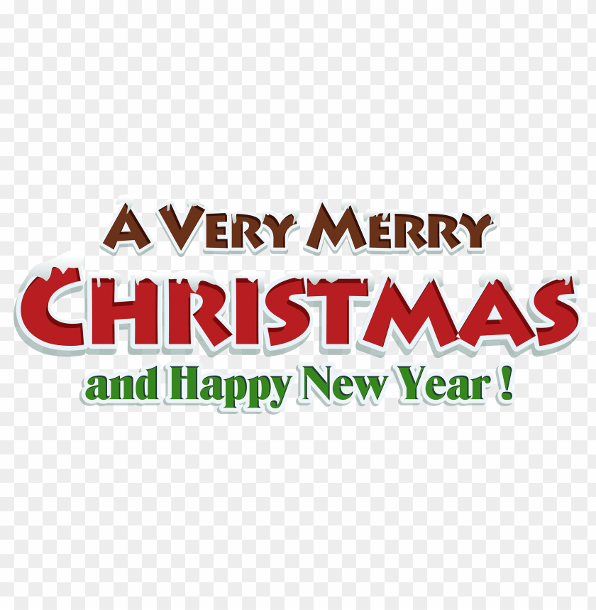 merry christmas red text decor png - Free PNG Images | TOPpng