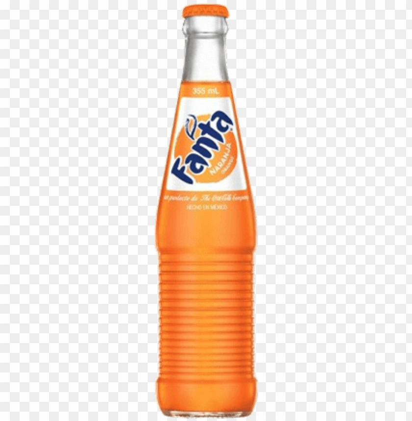 free PNG mexican fanta png vector library stock - fanta in a glass bottle PNG image with transparent background PNG images transparent