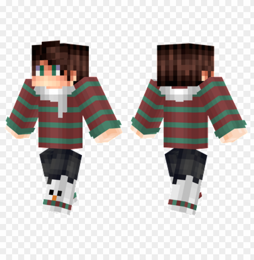 Christmas Minecraft Skins.Minecraft Skins Christmas Boy Skin Png Image With