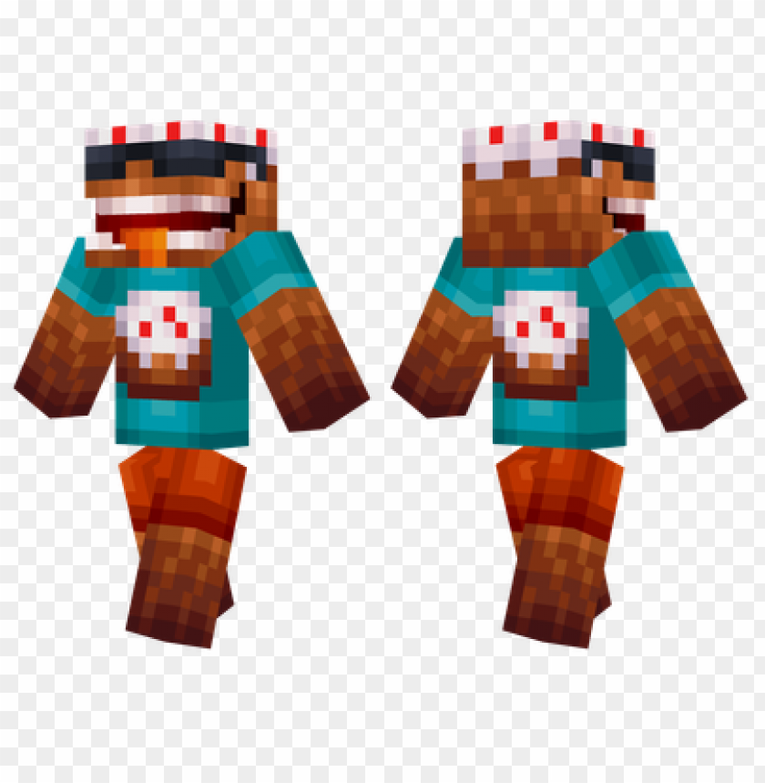 Minecraft Skins Cool Cake Skin Png Image With Transparent