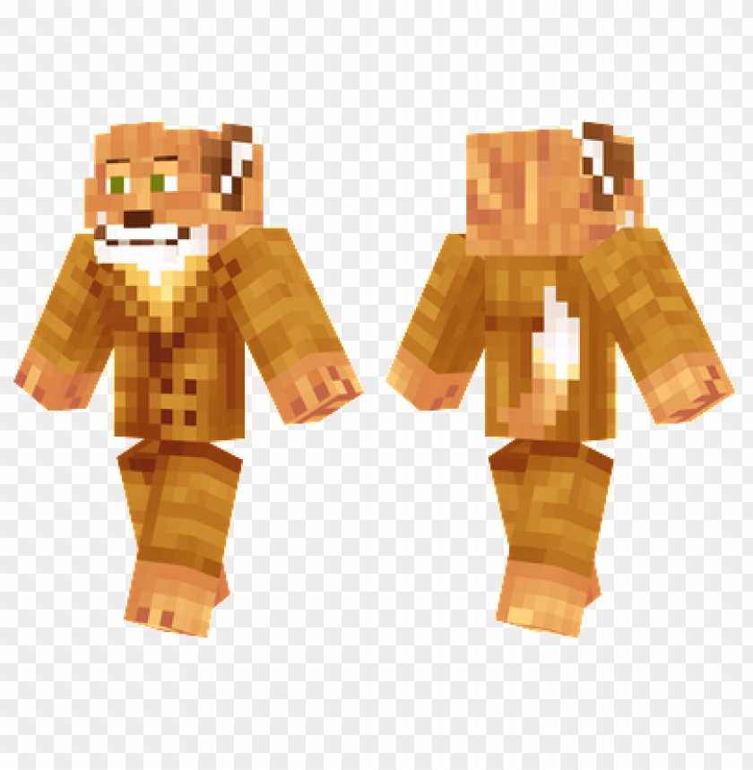 Minecraft Skins Fantastic Mr Fox Skin Png Image With Transparent Background Toppng