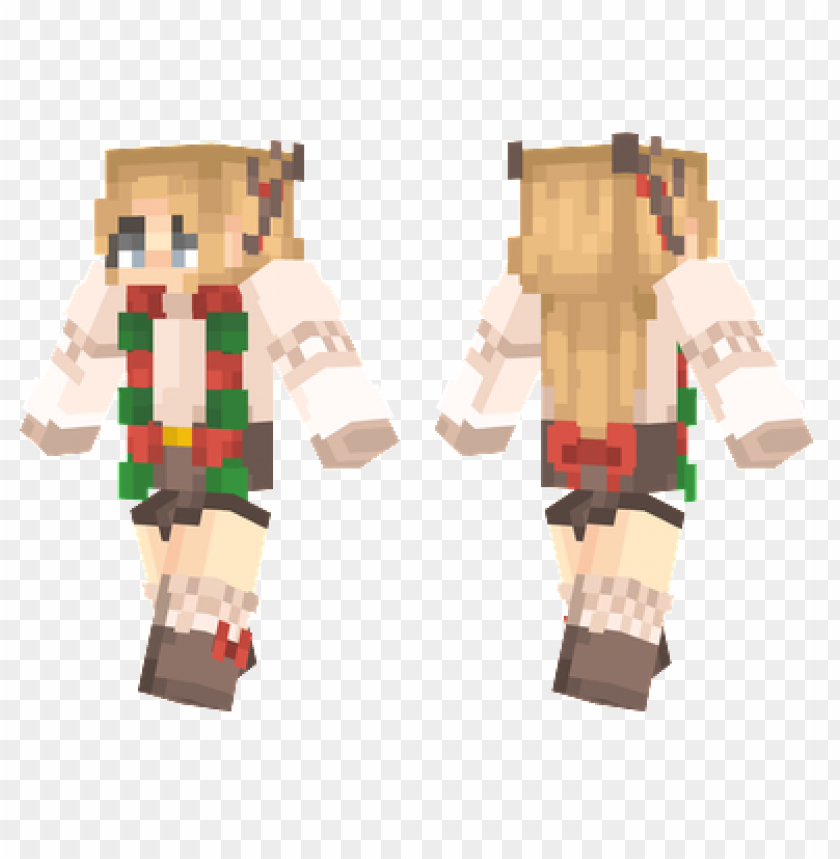 Minecraft Christmas Skins.Minecraft Skins Festive Christmas Skin Png Image With