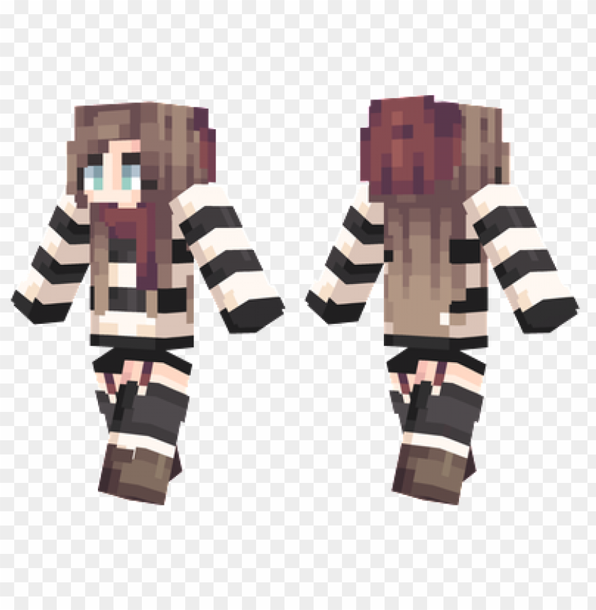 Minecraft Christmas Skins.Minecraft Skins Striped Sweater Skin Png Image With