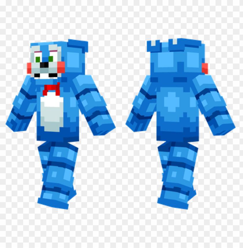 Minecraft Skins Toy Bonnie Skin Png