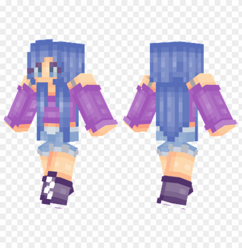 Minecraft Skins Violetta Skin Png Image With Transparent