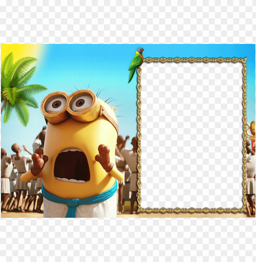 Minions 2015 Kids Frame Background Best Stock Photos Toppng