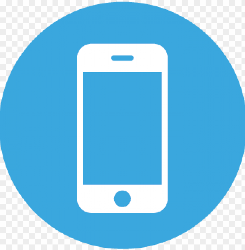 free PNG mobile app - blue smart phone ico PNG image with transparent background PNG images transparent