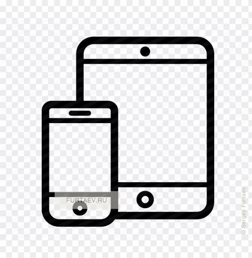 free PNG mobile phone tablet icon - tablet and phone icon png - Free PNG Images PNG images transparent