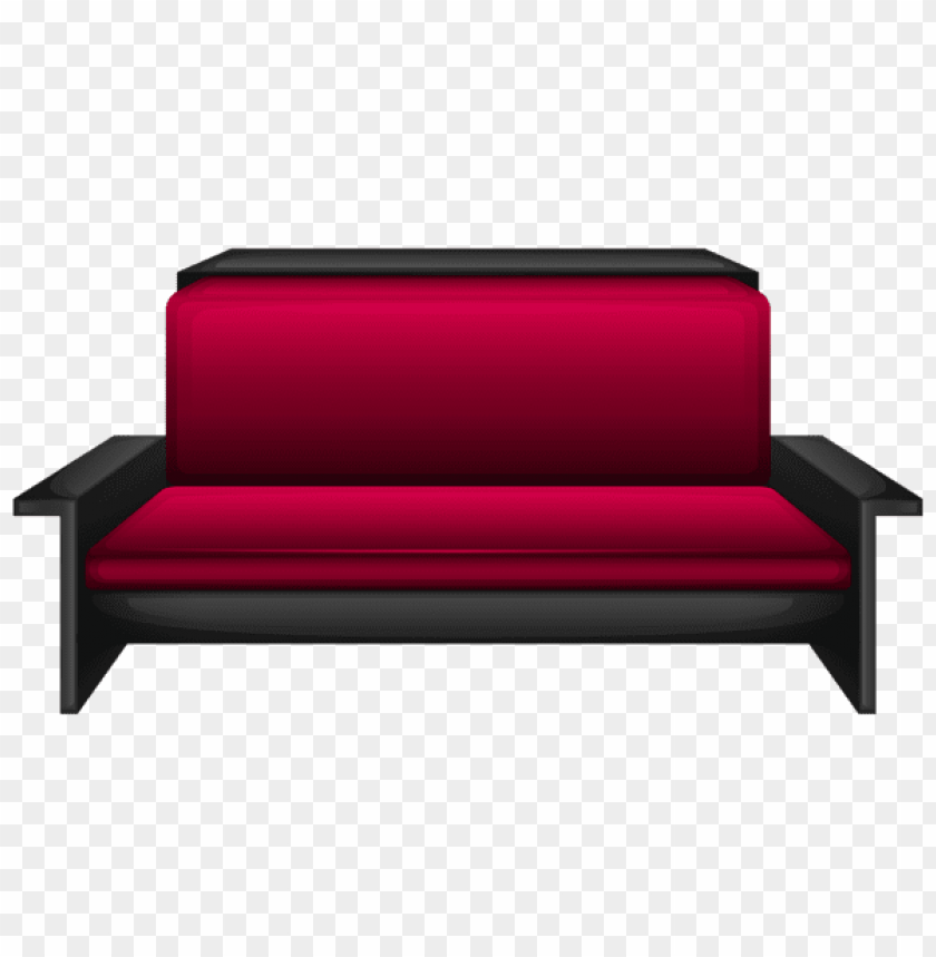 Download modern red sofa clipart png photo | TOPpng