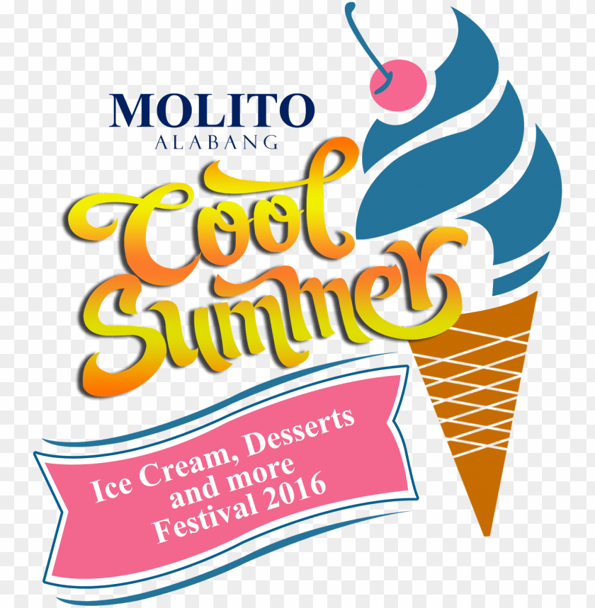 free PNG molito cool summer fest - ice cream PNG image with transparent background PNG images transparent