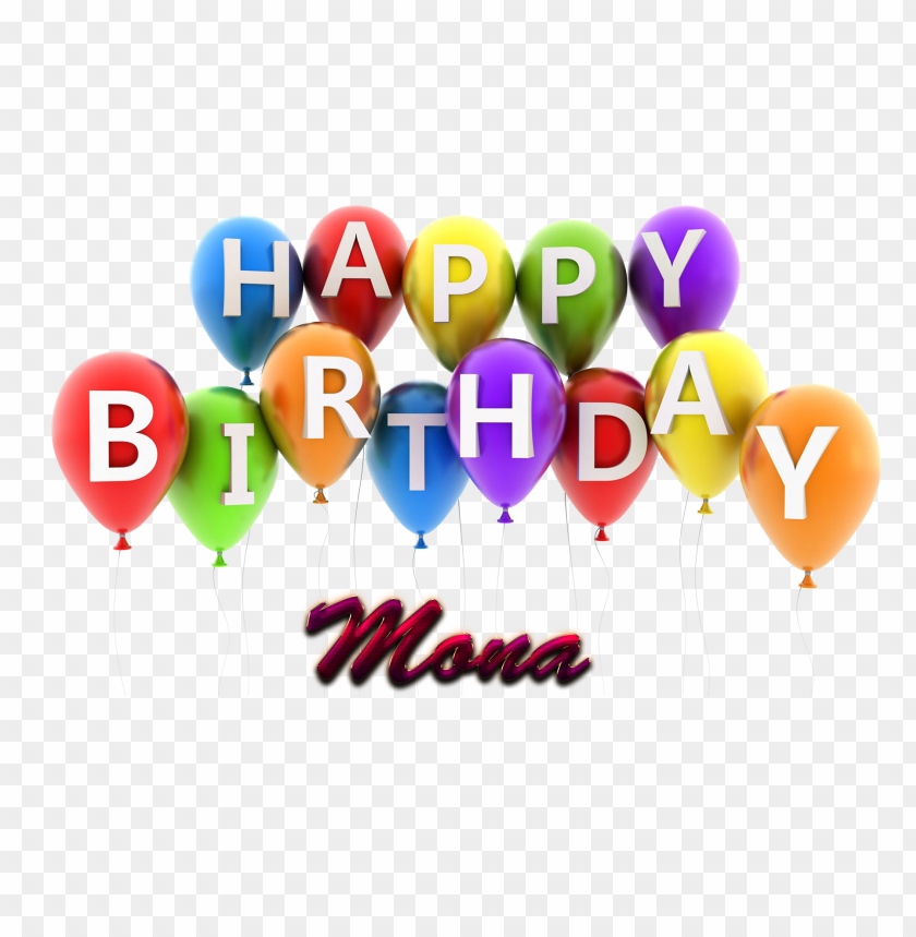 Free PNG Download Mona Happy Birthday Vector Cake Name Png Images Background Transparent