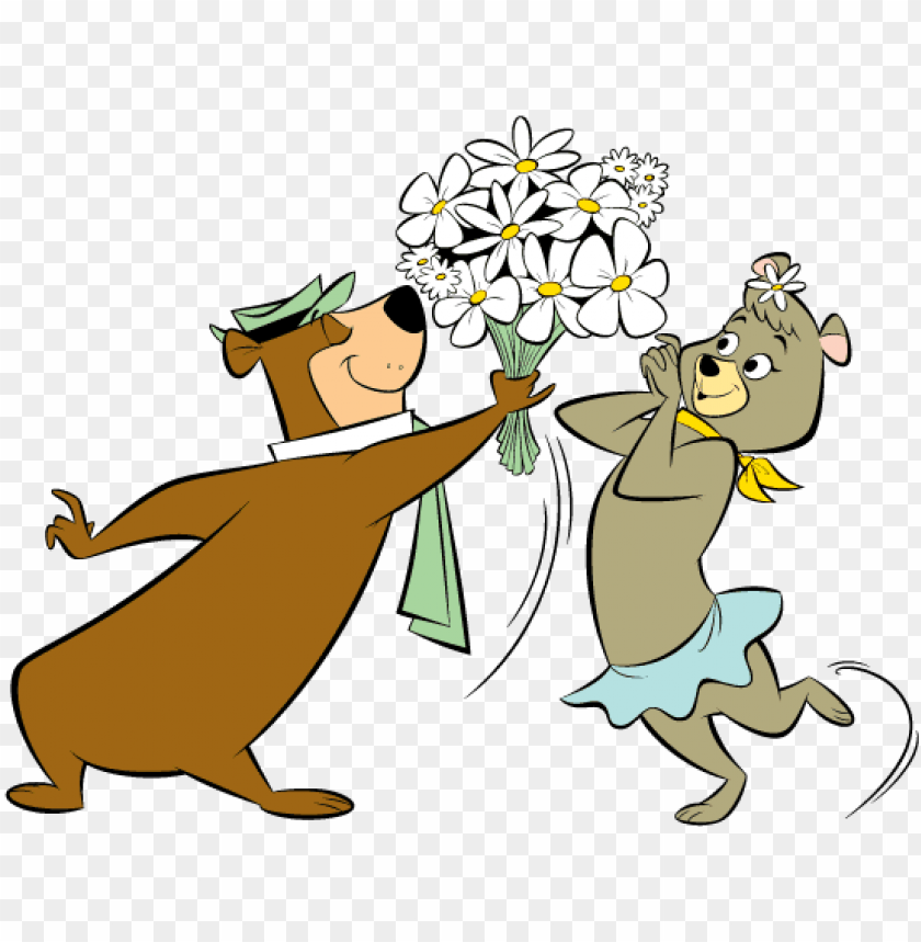 Mother S Day Weekend Yogi Bear And Cindy Bear Png Image With Transparent Background Toppng