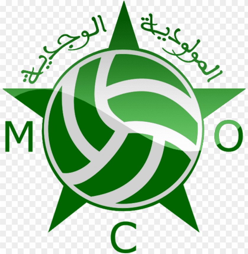 free PNG mouloudia oujda football logo png ffe6 png - Free PNG Images PNG images transparent