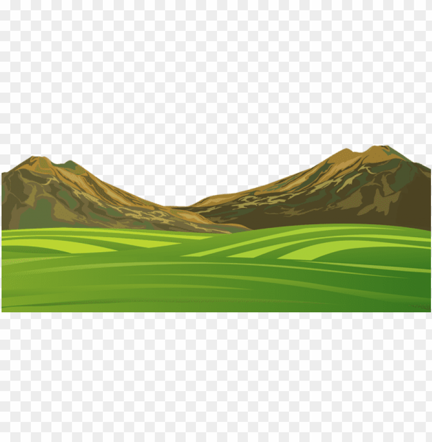 free PNG Download mountain and meadow ground png cartoon png images background PNG images transparent