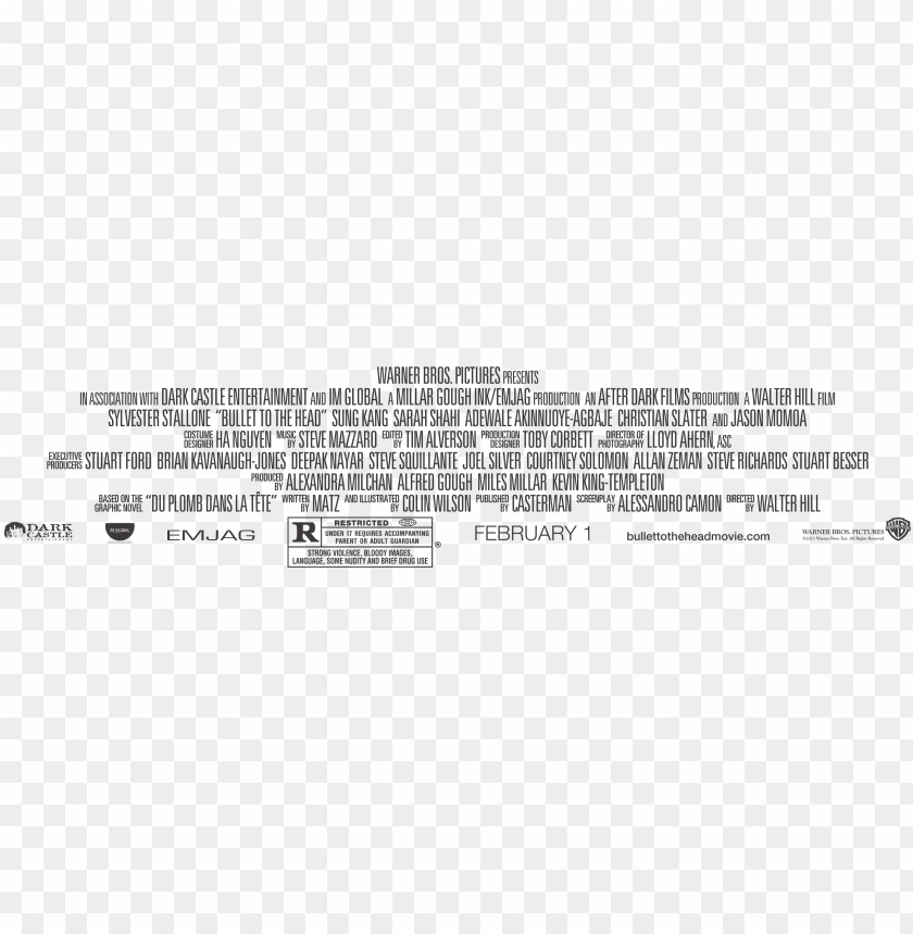 Movie Poster Credits Png Picture Freeuse Movie Poster Text