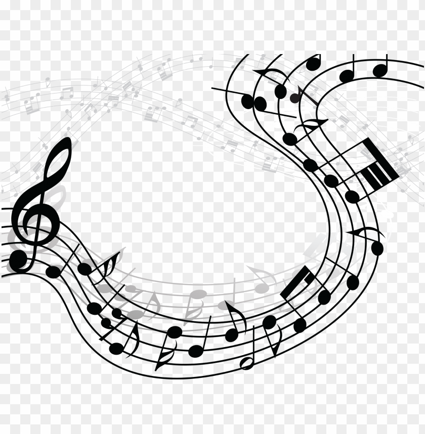 Music Notes Clipart Image With Transparent Background