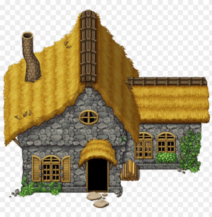mv cottage by schwarzenacht - tileset medieval rpg maker vx