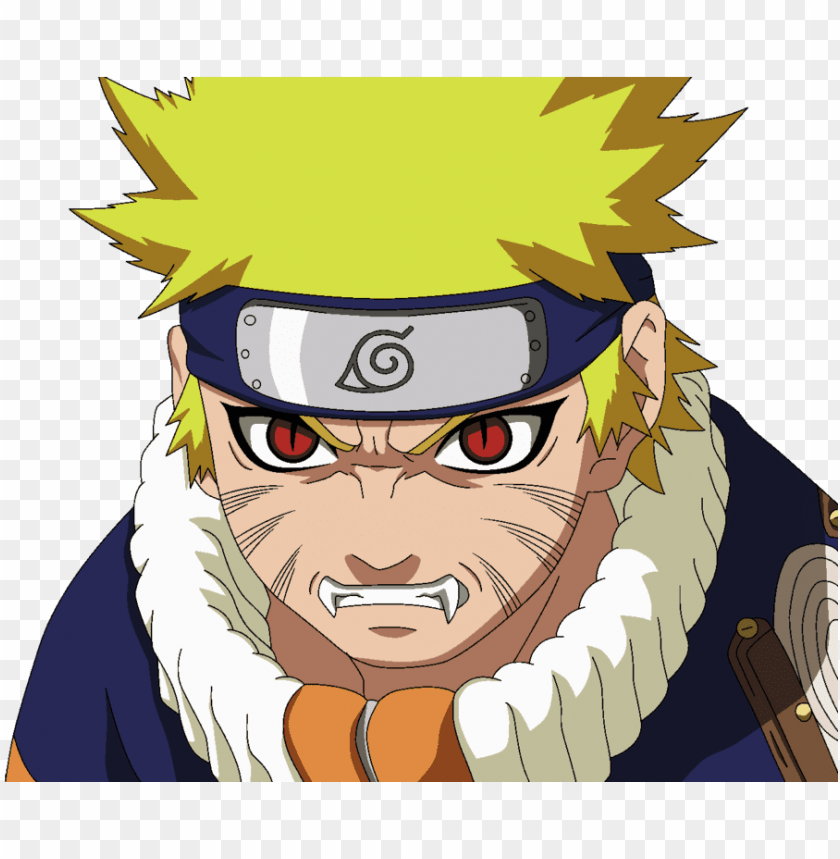Naruto Uzumaki Red Eyes Png Image With Transparent Background Toppng