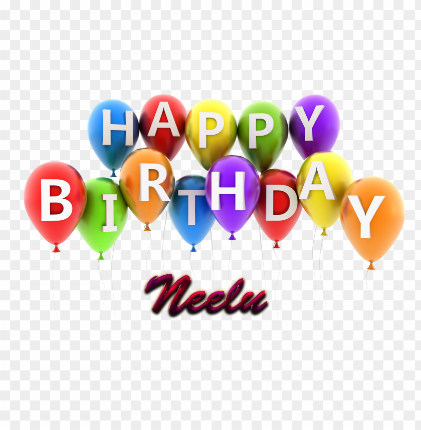 free PNG neelu happy birthday vector cake name png PNG images transparent