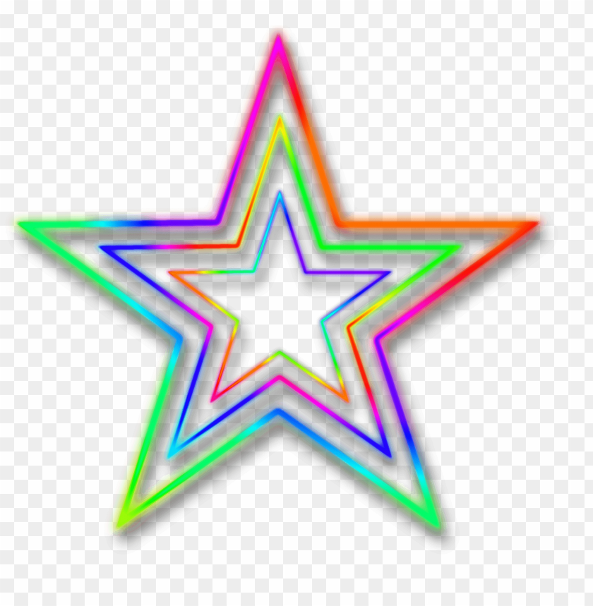 free PNG neon star PNG image with transparent background PNG images transparent