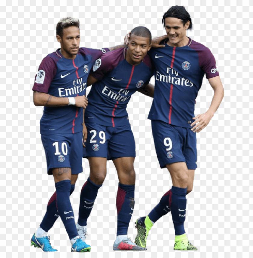 Download Neymar Kylian Mbappé Edinson Cavani Png Images
