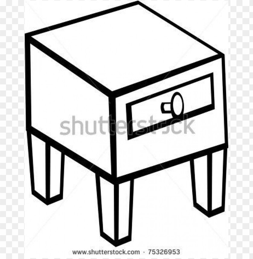 free PNG Download night stand nightstand furniture stock c1njs1 clipart png photo   PNG images transparent