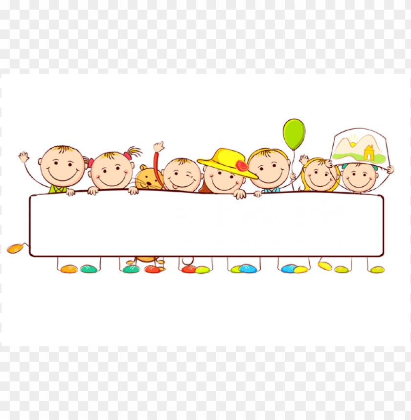 Niños Preescolar Animados PNG Image With Transparent