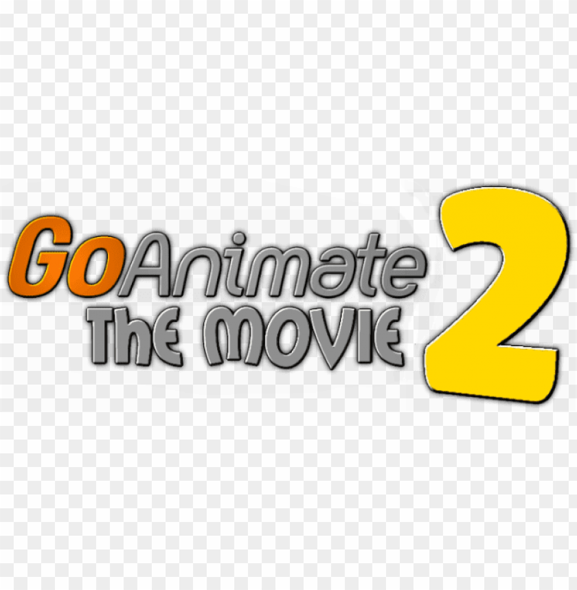 free PNG o animate 2 official title art promotional by c e - goanimate the movie 2 logo PNG image with transparent background PNG images transparent