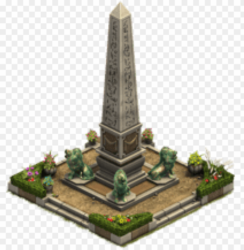 free PNG obelisk garden forge of empires PNG image with transparent background PNG images transparent