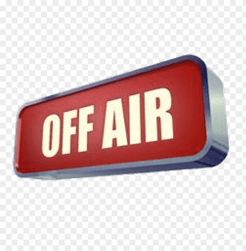 free PNG off air sign PNG image with transparent background PNG images transparent