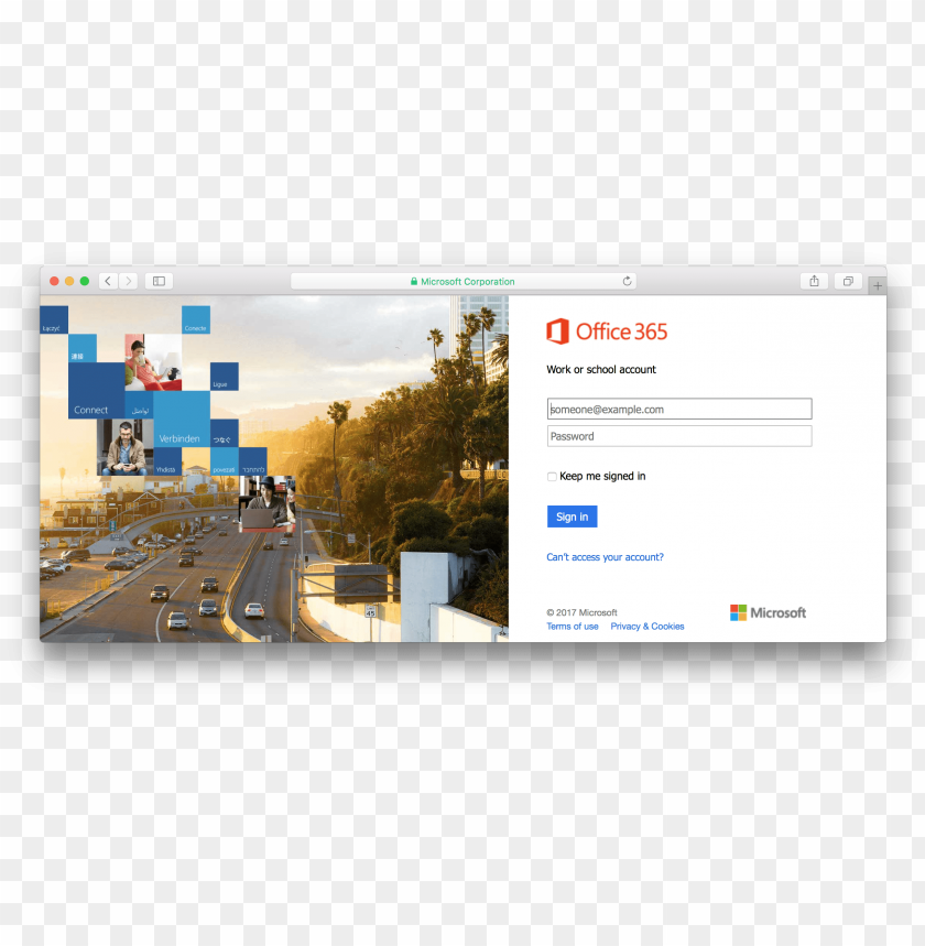 office 365 portal - office 365 login scree PNG image with