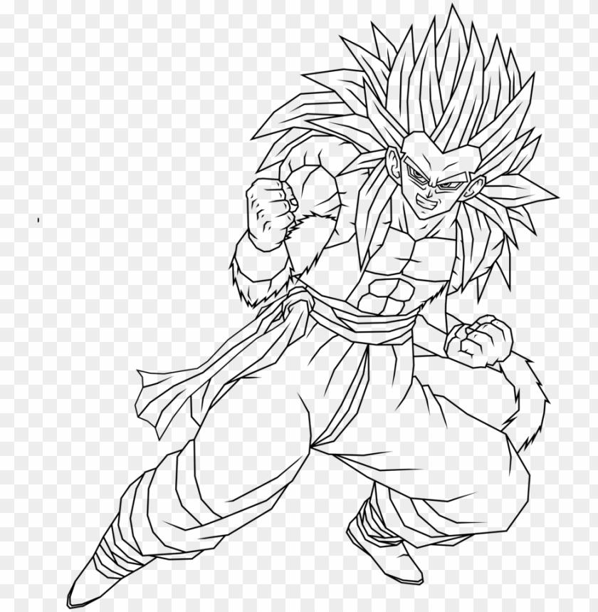 Dibujos Para Colorear De Dragon Ball Z Goku Vs Vegeta Mejores