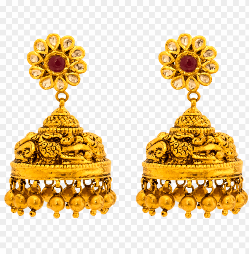 free PNG old earrings collections, south indian earrings designs - earing jewellery design PNG image with transparent background PNG images transparent