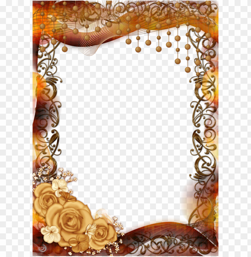 free PNG old flower frame png pic - frame high quality PNG image with transparent background PNG images transparent